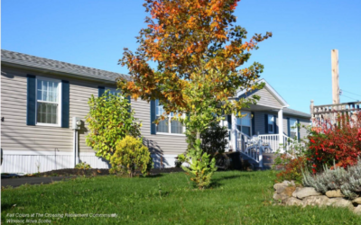 Fall Colors Abound at The Crossing Retirement Community