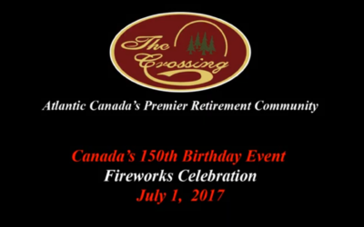 Canada Day Fireworks at The Crossing Retirement Village