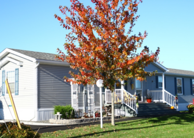 Fall foliage at The Crossing Retirement Community