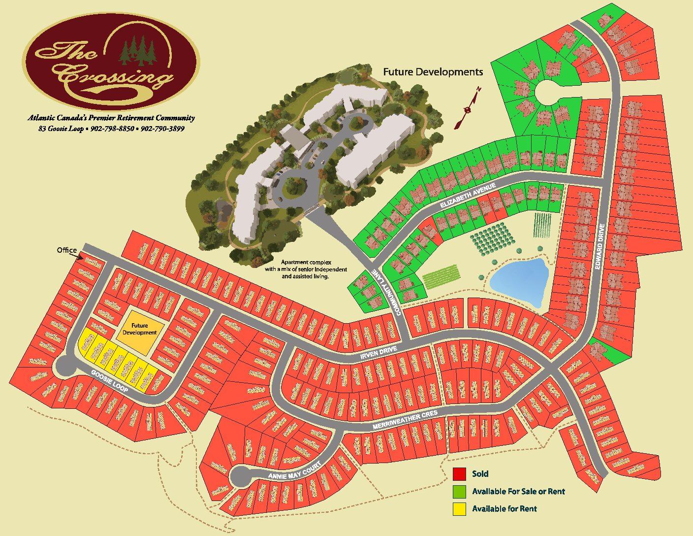 The Crossing Development Map